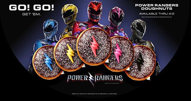 Power Rangers Krispy Kreme